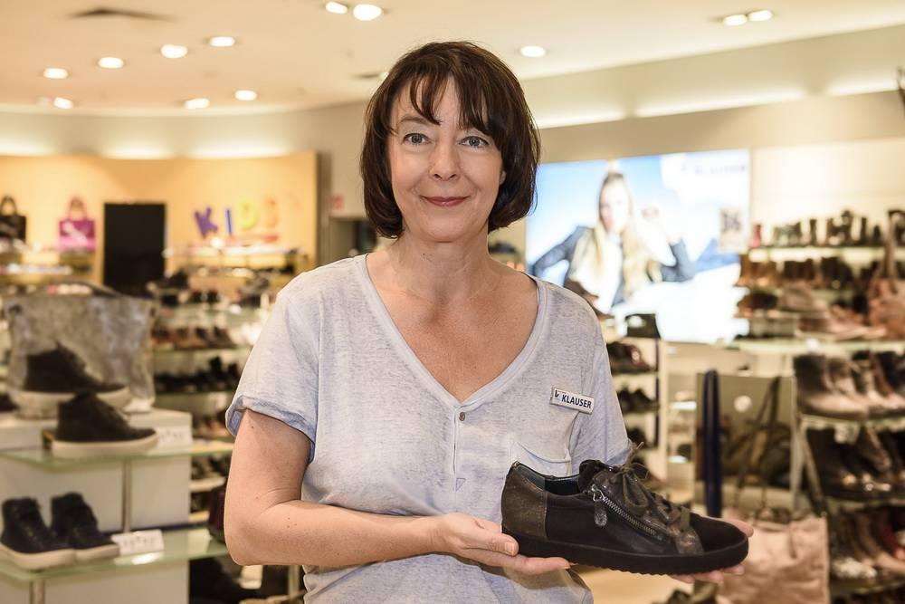 big sale 49093 a0965 Gabriele Hink vom Schuhhaus Klauser: Der Tag der 20.000 Schuhe