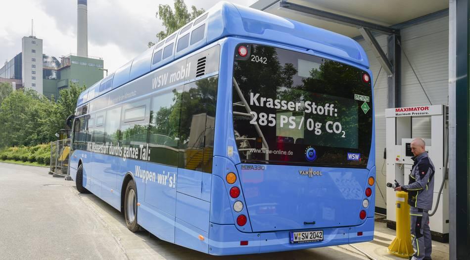 Wuppertal: Mit eigenen Wasserstoff durchs Tal
